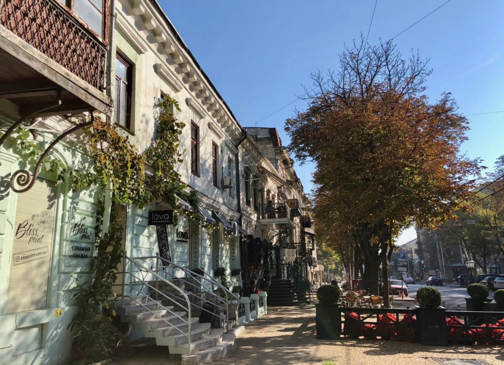 Ukraine-Odessa-facade-avec-vigne