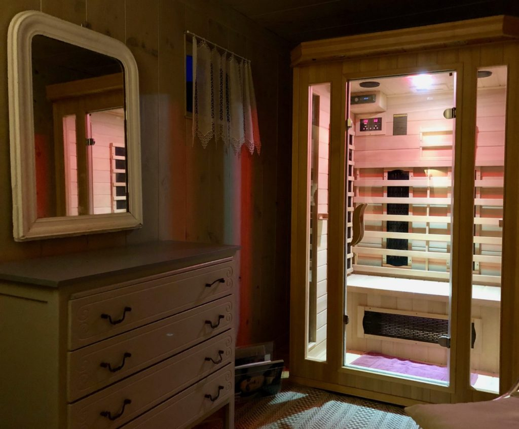 Aux portes de la baie de Somme - Chambre en baie sauna