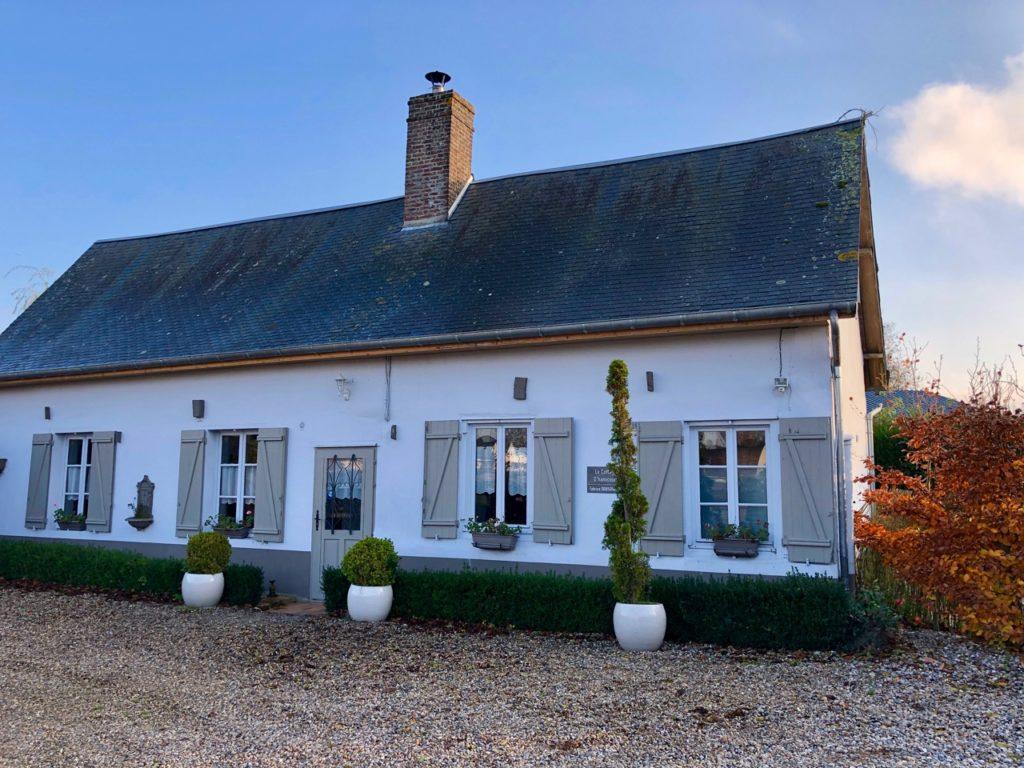 Aux portes de la baie de Somme - Le Cottage d'Hamicourt extérieur