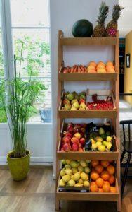 Lille Pablo et Valentina étagères fruits et légumes