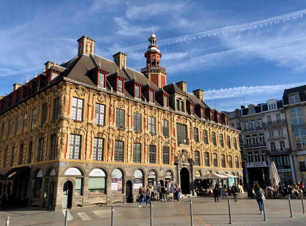 Nord Lille - Vieille Bourse côté Grand Place