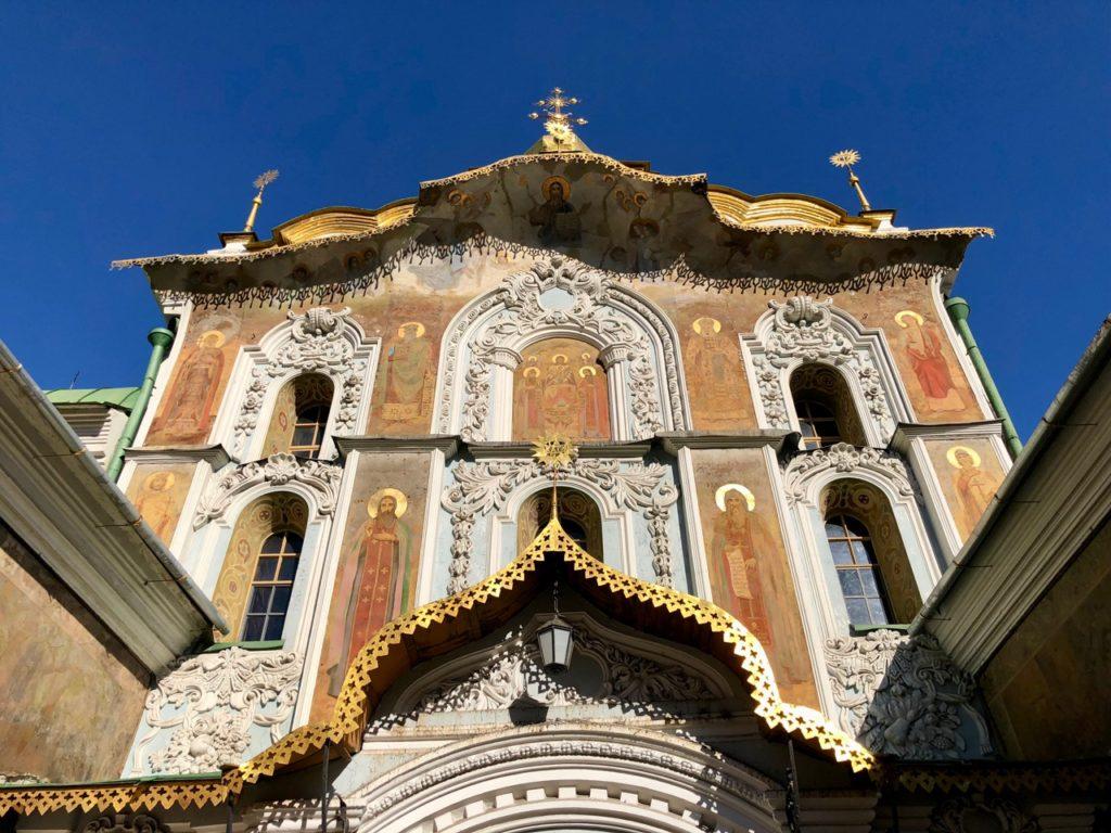 Ukraine-Kiev-entree-Laure-des-catacombes