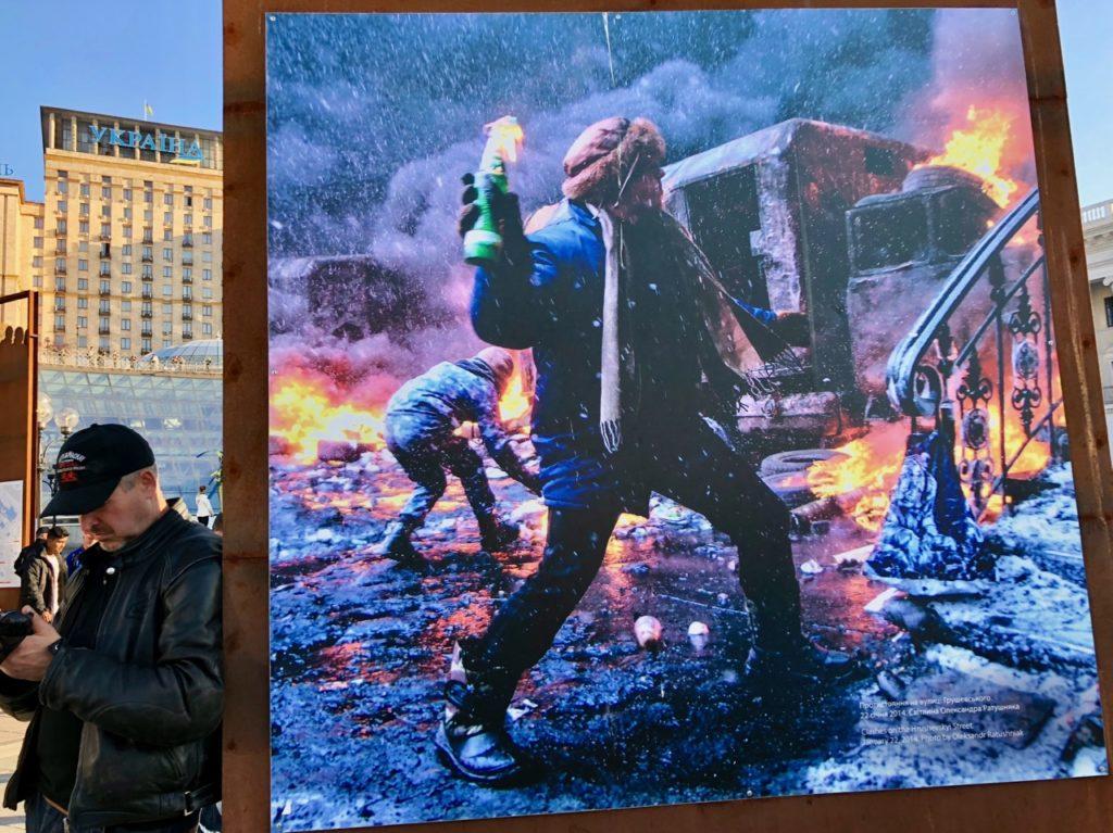 Ukraine-Kiev-panneau-place-de-l-Independance