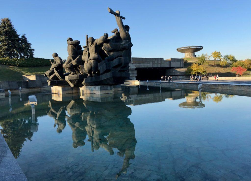 Ukraine-Kiev-parc-statues-site-mere-Patrie