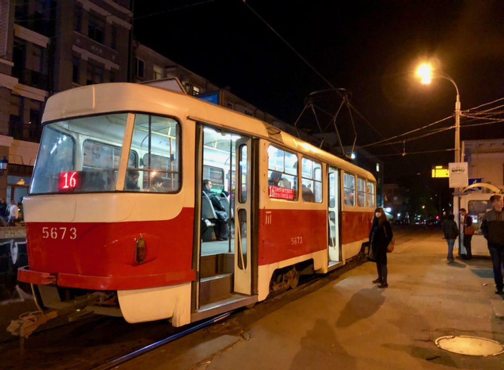 Ukraine-Kiev-tram
