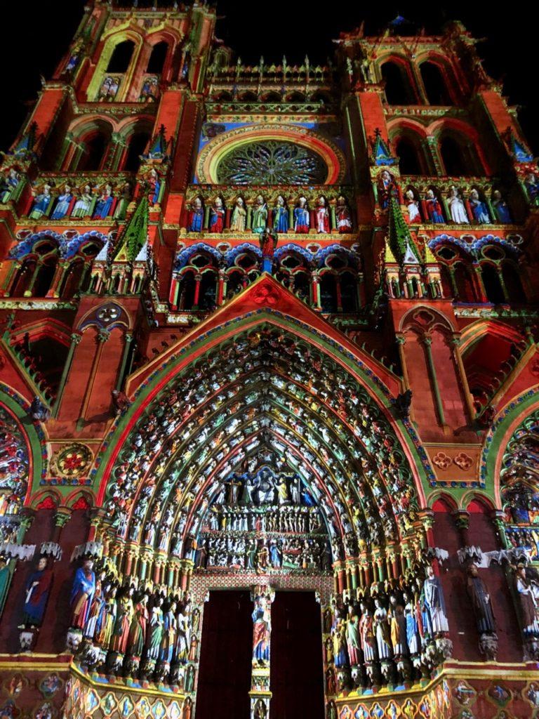 Amiens Chroma cathédrale polychrome