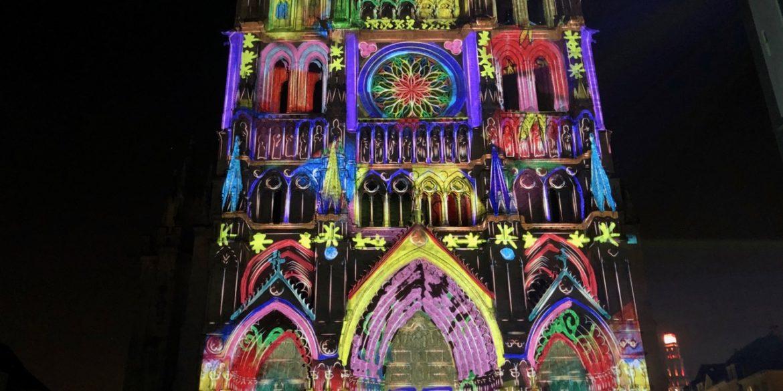 À Amiens, avec Chroma, la cathédrale enfile ses habits de couleur