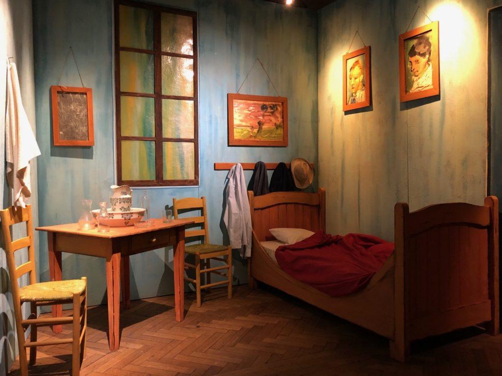 Bruxelles Plaisirs d'hiver Van Gogh chambre