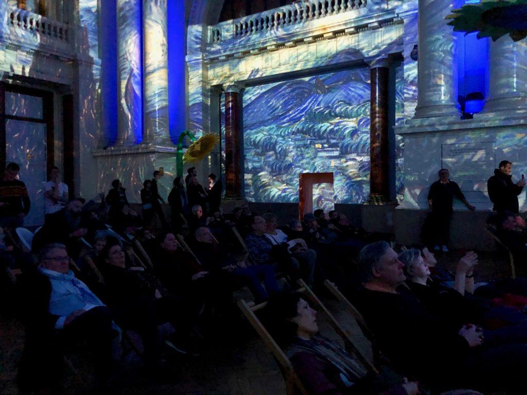 Bruxelles Plaisirs d'hiver Van Gogh spectacle