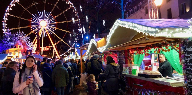 À Bruxelles, Plaisirs d'hiver, mon marché de Noël préféré