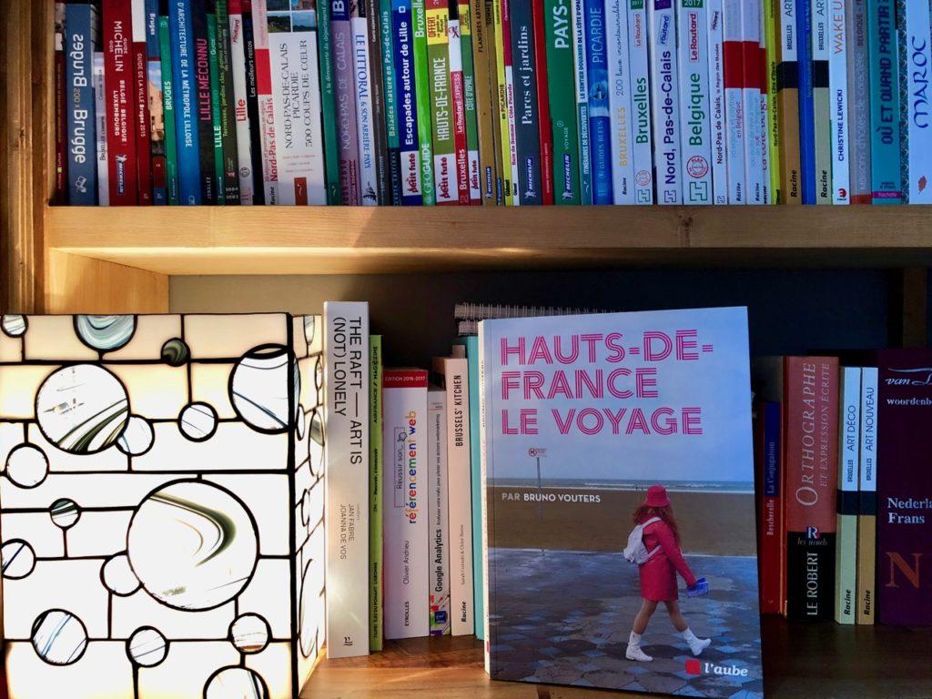 Hauts-de-France Le Voyage Bruno Vouters livre sur bibliothèque