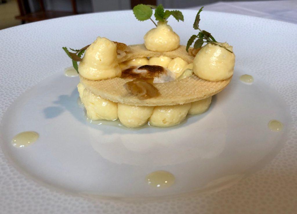 La Clé des Champs Favières Somme dessert Yuzu