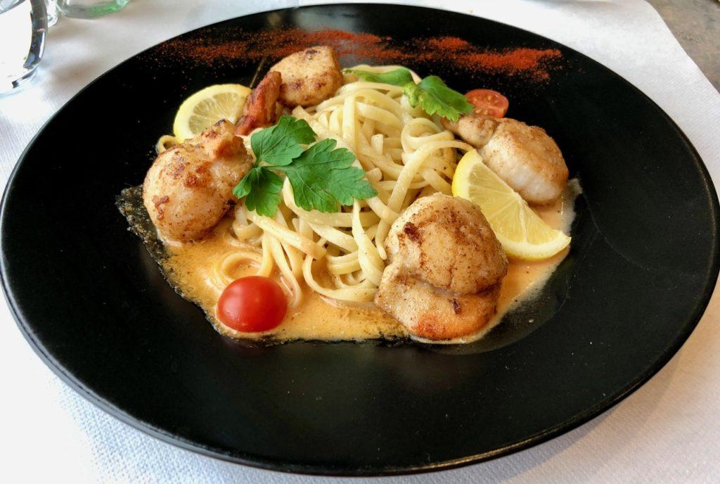 Saint-Valery-sur-Somme restaurant L'Embarcadère noix saint-jacques