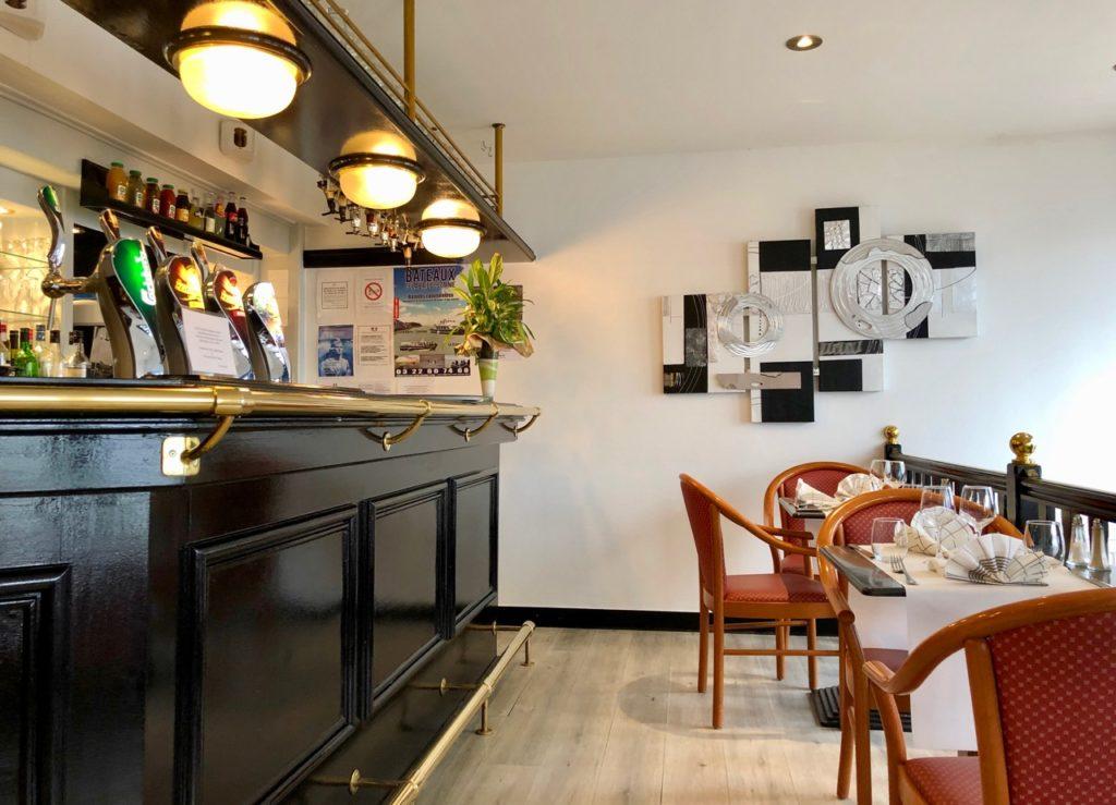 Saint-Valery-sur-Somme restaurant L'Embarcadère rez-de-chaussée