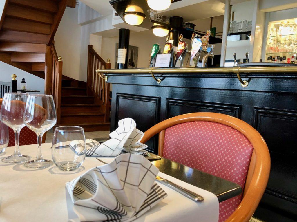 Saint-Valery-sur-Somme restaurant L'Embarcadère salle