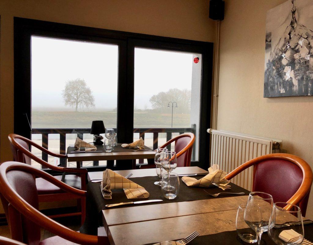 Saint-Valery-sur-Somme restaurant L'Embarcadère salle panoramique