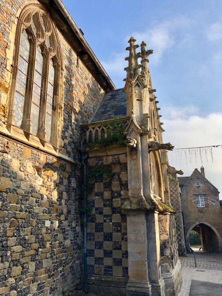 Balade Saint-Valery-sur-Somme église Saint-Martin exétrieur gargouilles