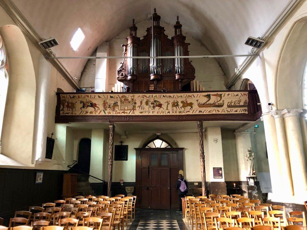 Balade Saint-Valery-sur-Somme église Saint-Martin intérieur orgue