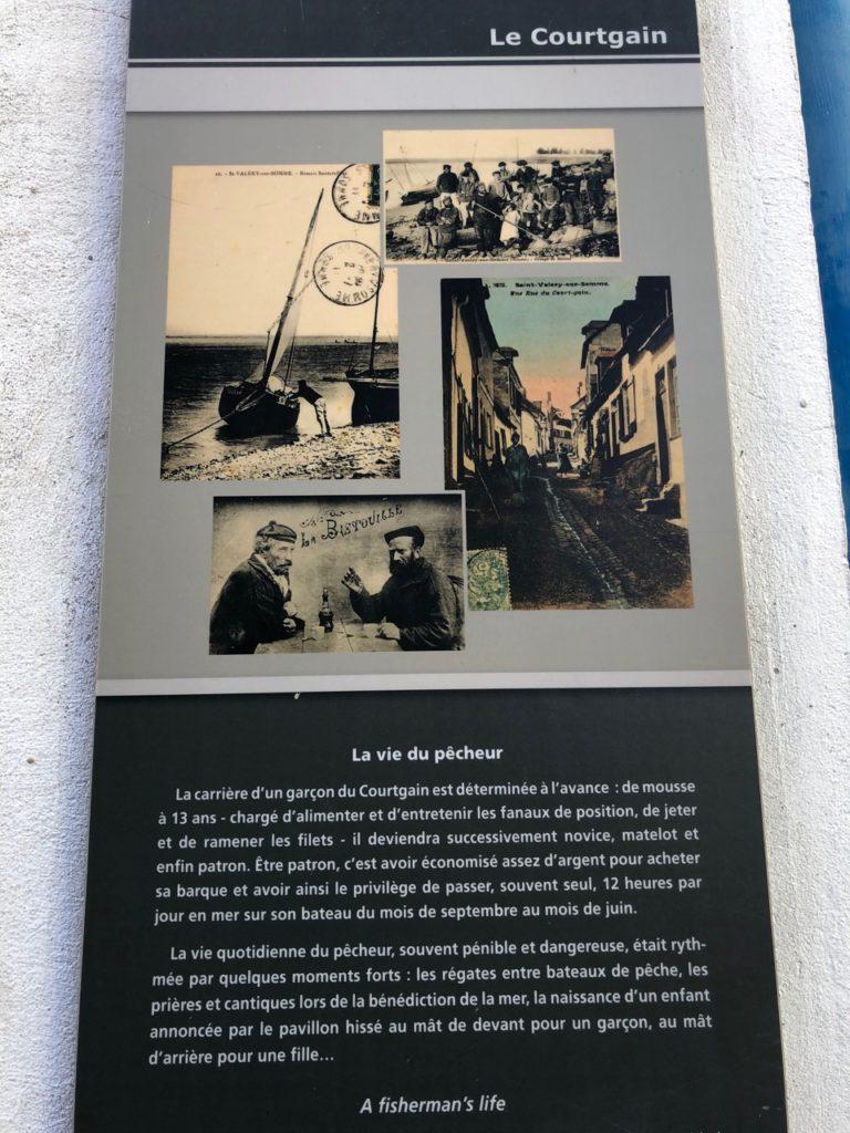 Balade Saint-Valery-sur-Somme le courtgain