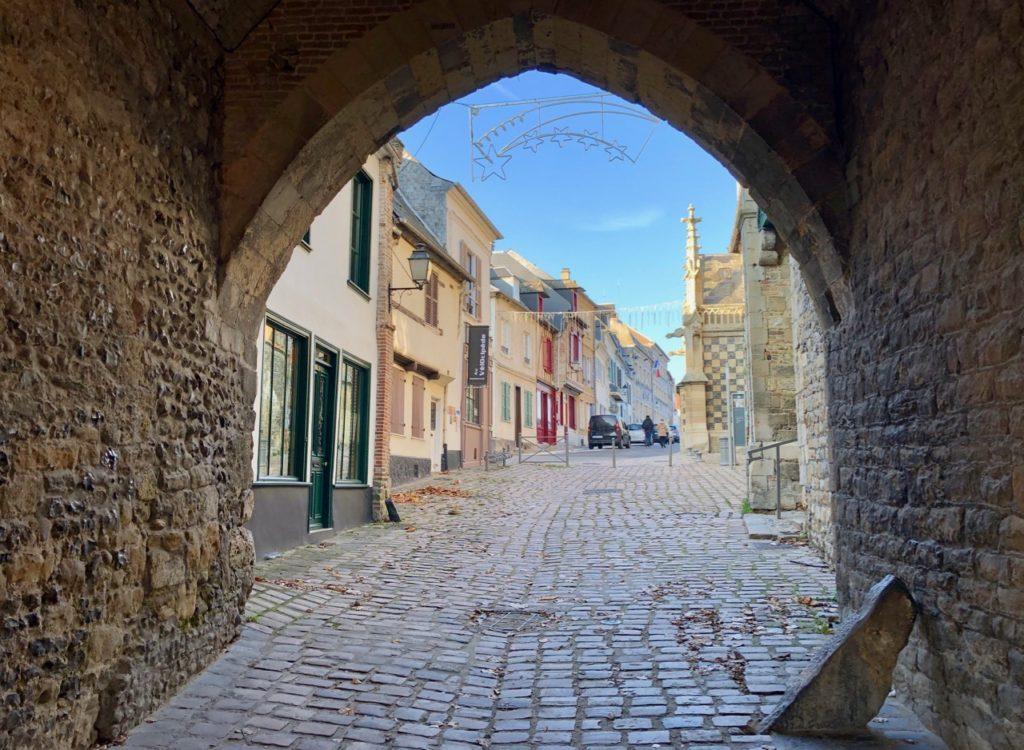 Balade Saint-Valery-sur-Somme passage porte Nevers