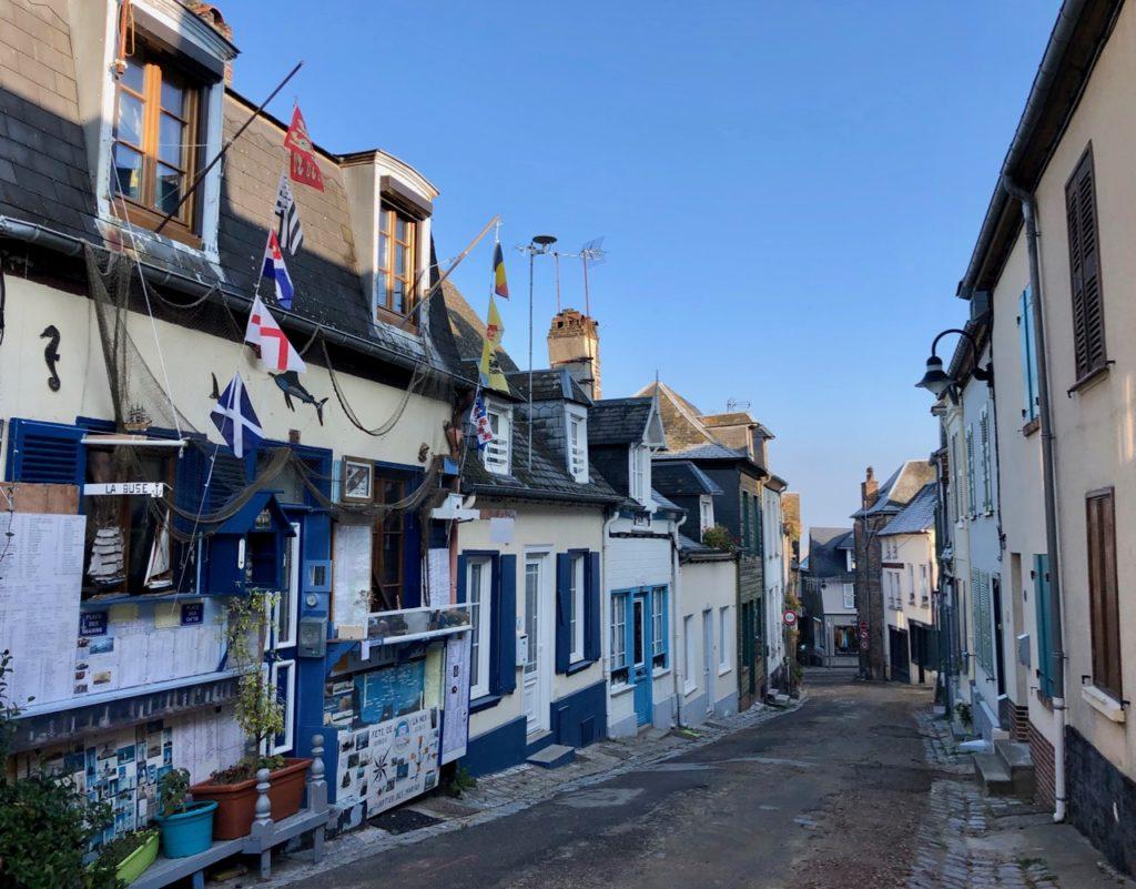 Balade Saint-Valery-sur-Somme quartier marins
