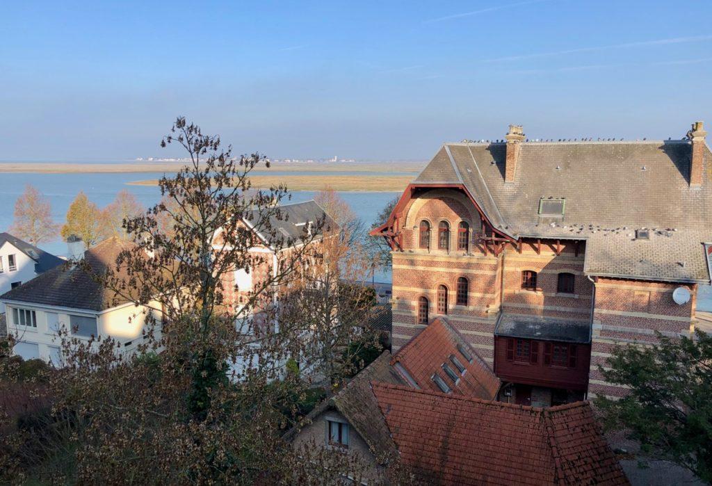 Balade Saint-Valery-sur-Somme vue baie de église