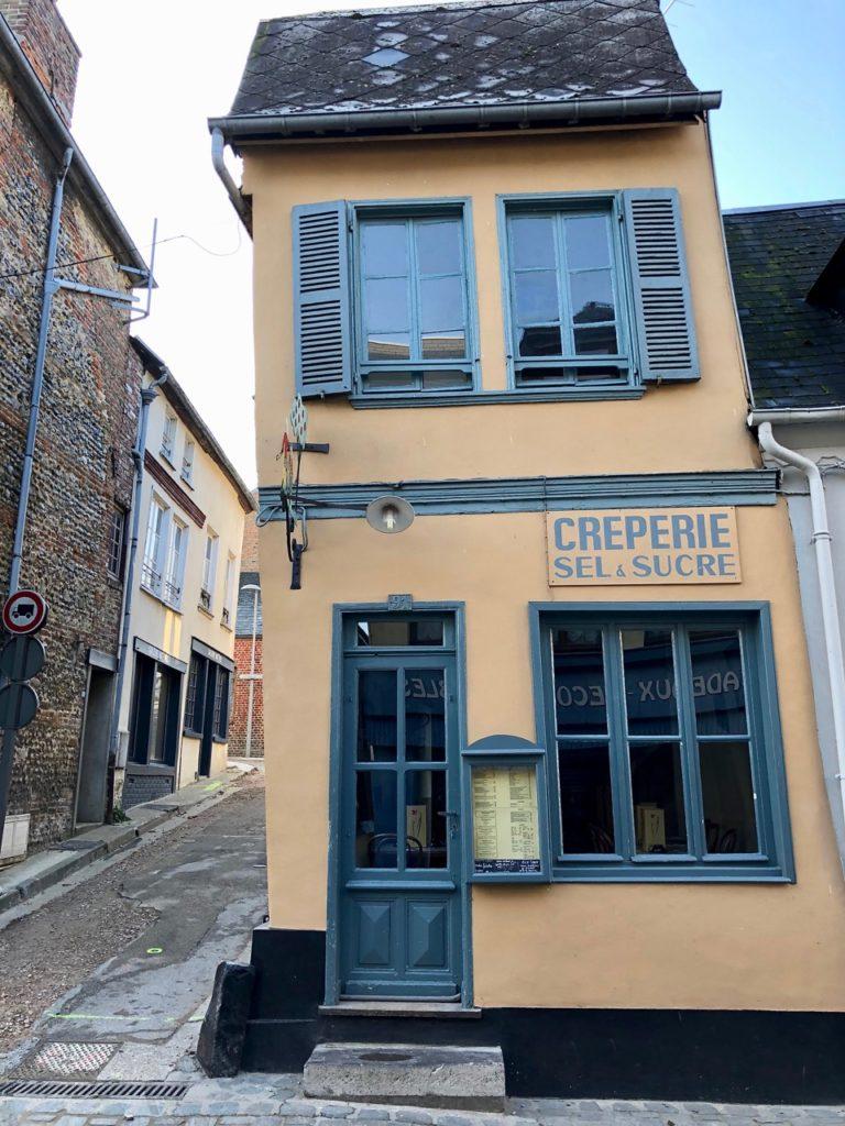 Balade Saint-Valery-sur-somme maison qui penche