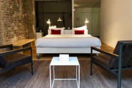 Bruxelles 9 Hotel Central Suite lit