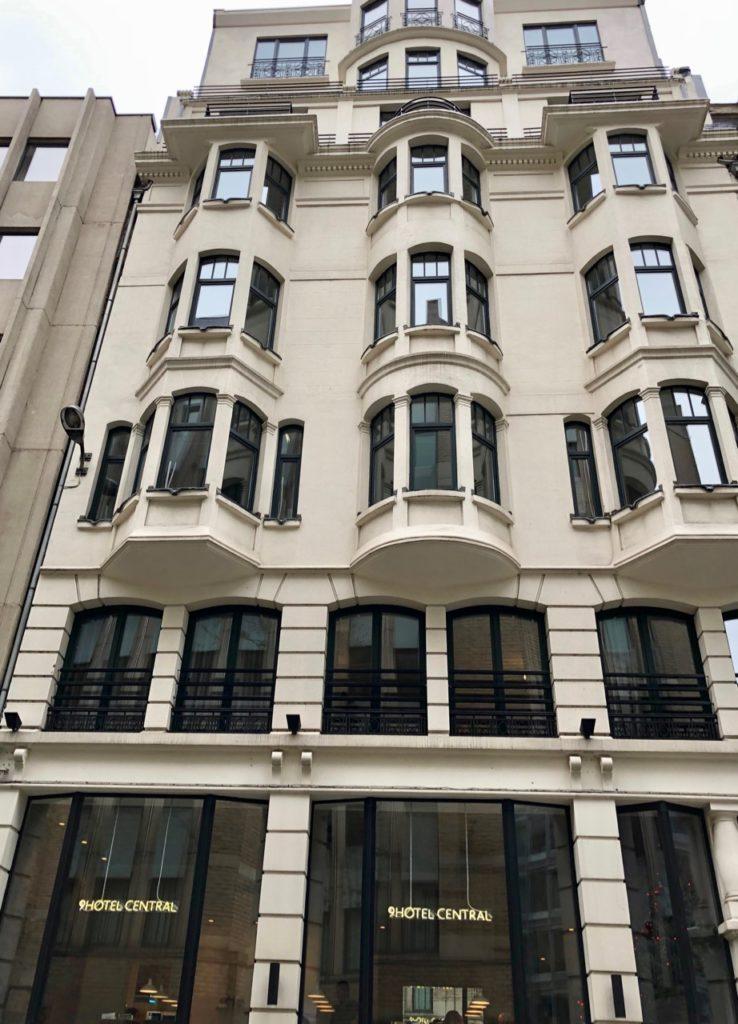 Bruxelles 9 Hotel Central façade-arrière