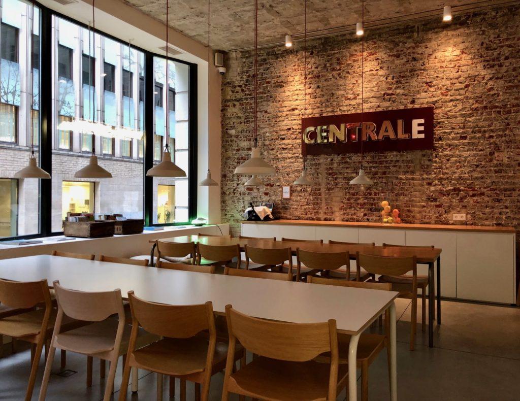 Bruxelles 9 Hotel Central salle petit déjeuner
