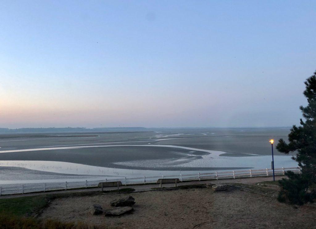 Le Crotoy Les Tourelles vue plage