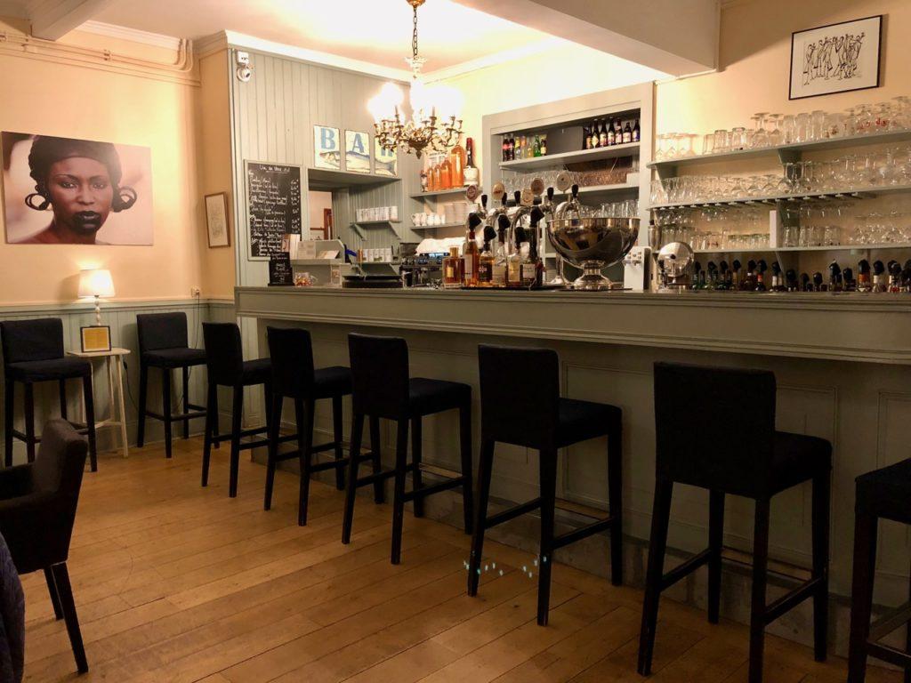 Le Crotoy hotel Les Tourelles bar