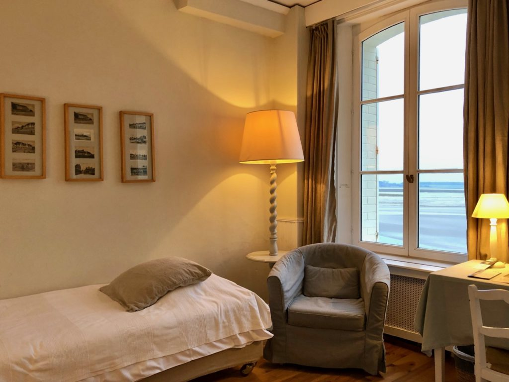 Le Crotoy hotel Les Tourelles chambre