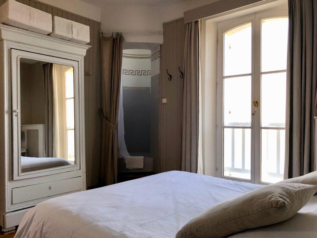 Le Crotoy hôtel Les Tourelles chambre tourelle