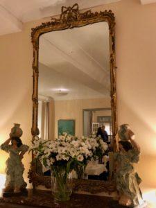 Le Crotoy hotel Les Tourelles miroir salle à manger