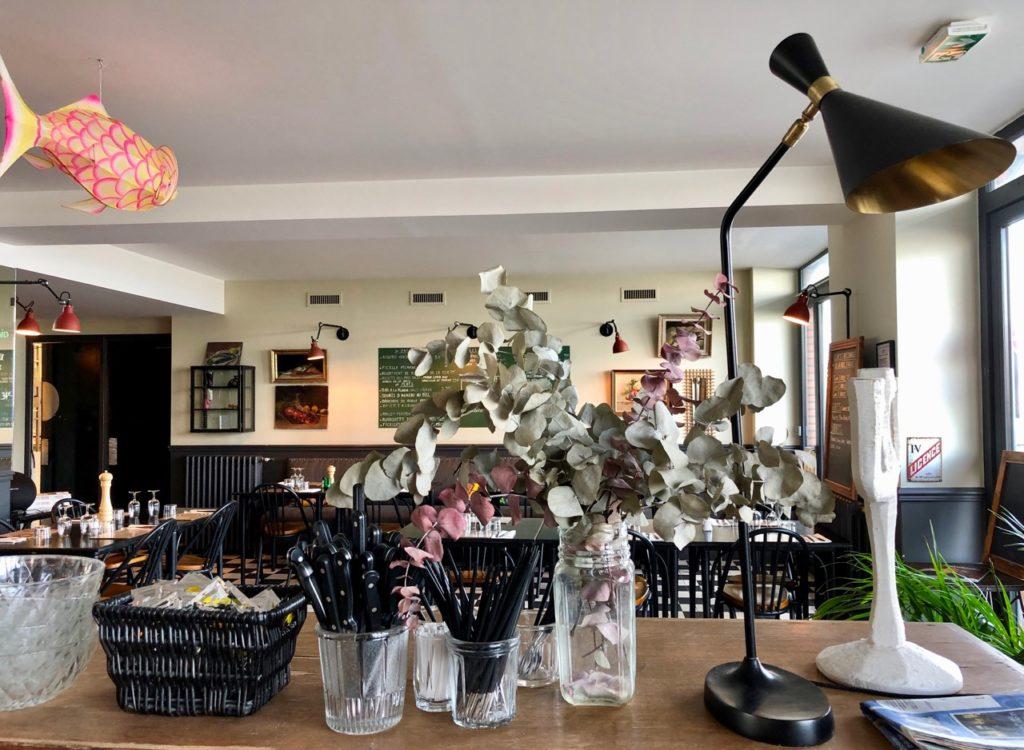 Saint-Valery-sur-Somme - Les Pilotes buffet et salle