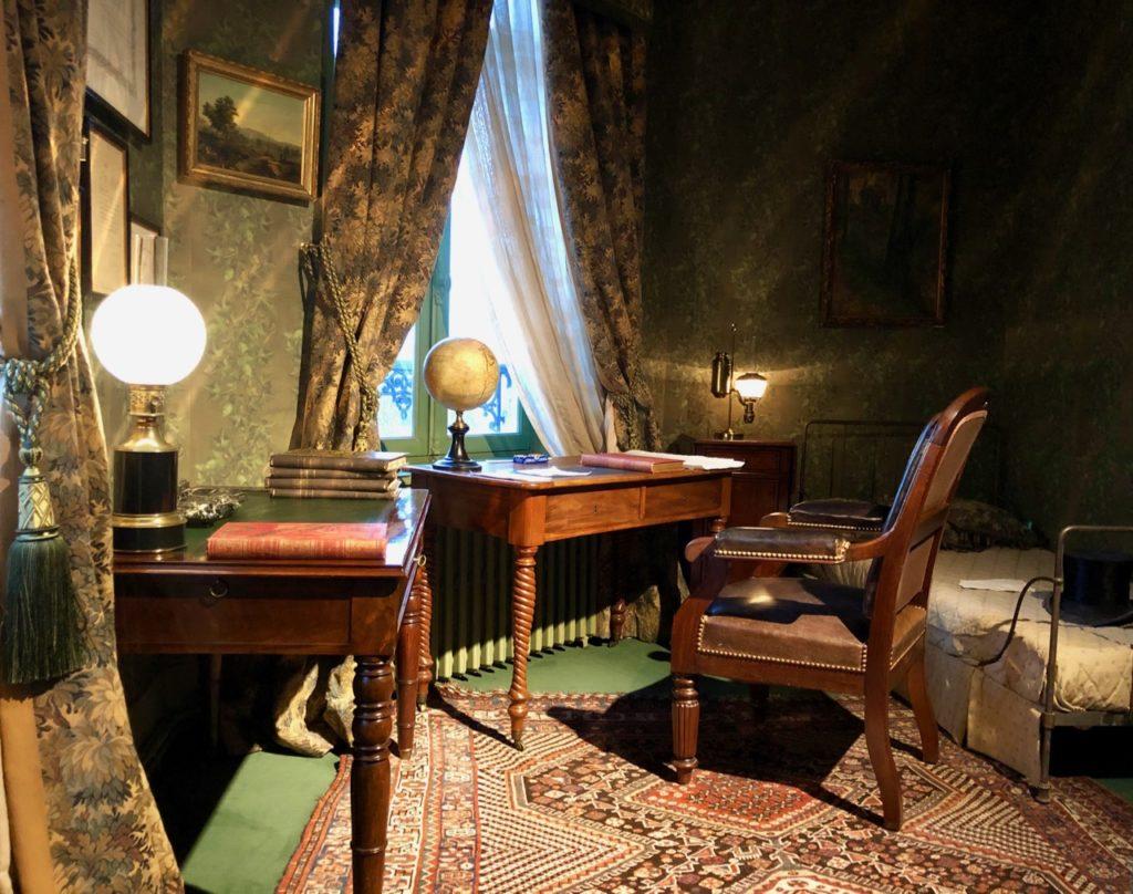 Amiens Maison Jules Verne bureau écrivain