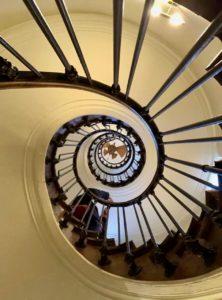 Amiens Maison Jules Verne escalier