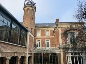 Amiens Maison Jules Verne-interieur-cour
