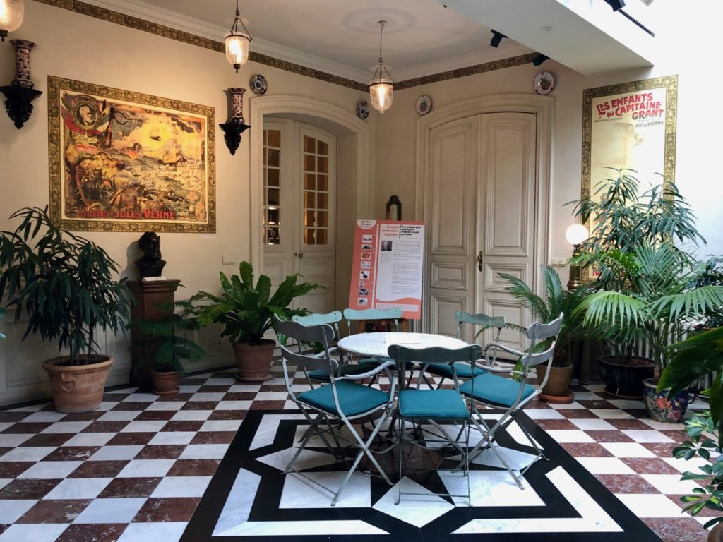 Amiens Maison Jules Verne jardin hiver