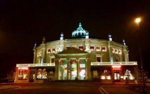 Amiens cirque Jules Verne nuit