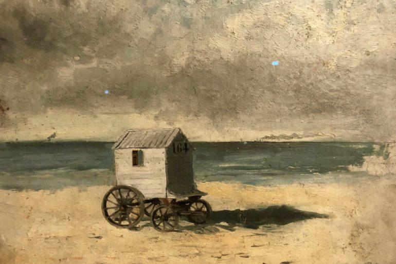 Ensor-Reves-de-nacre-cabine-de-bain-sur-la-plage