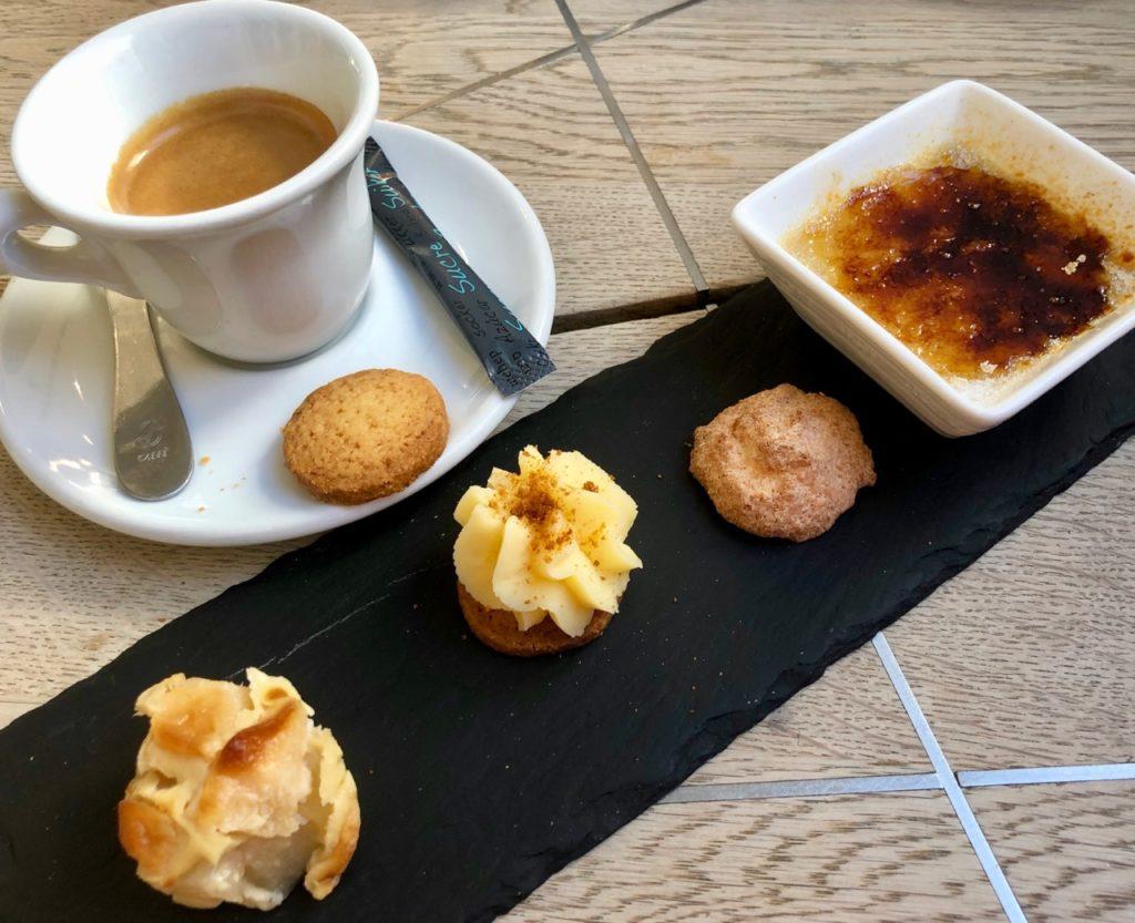 Mons Le Bistro de Jean-Phi café gourmand