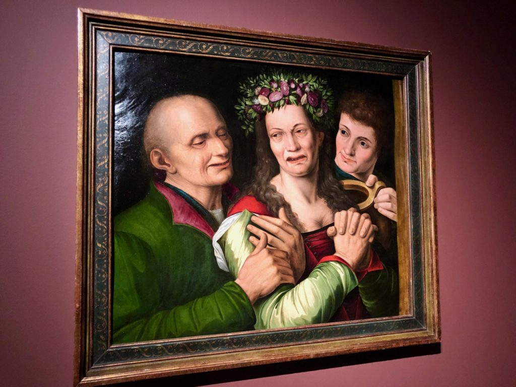 Cassel expo Brueghel Mariée qui pleure