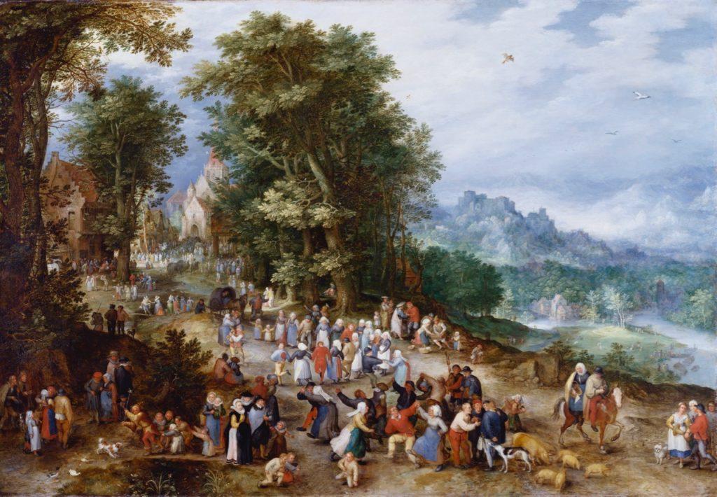 Cassel expo Jan Brueghel Fête villageoise
