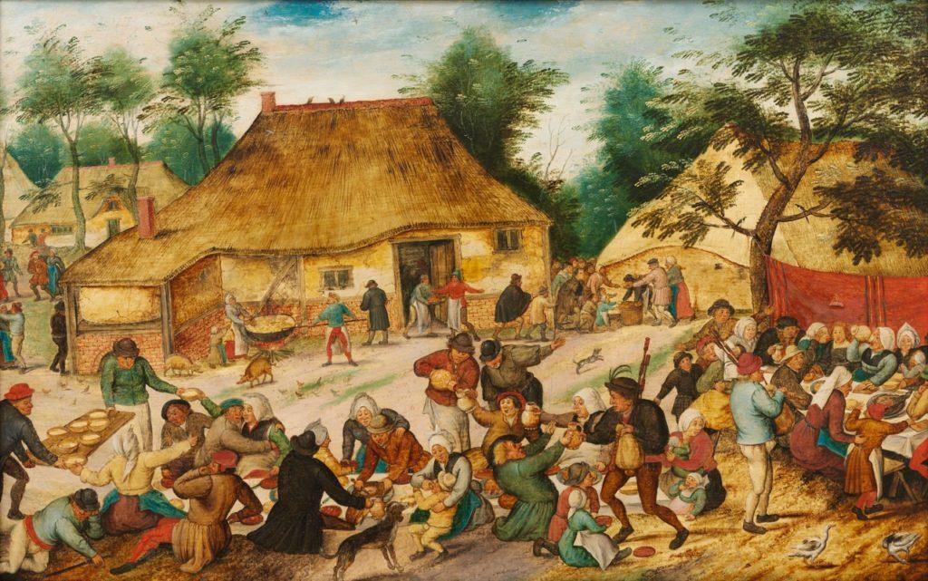 Cassel expo Pieter Brueghel Noces en plein air