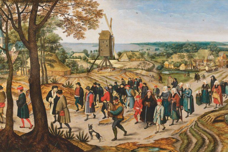 Cassel expo Pieter Brueghel deux Cortège de noces