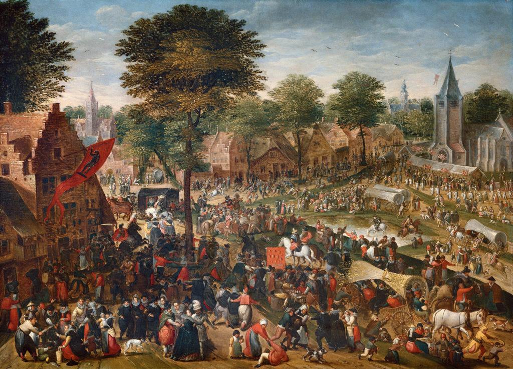 Cassel exposition Fêtes et Kermesse au temps des Brueghel Hans Bol