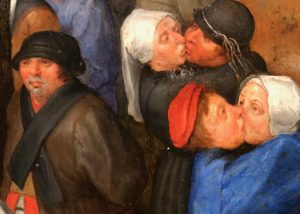Cassel expo temps des Brueghel baiser