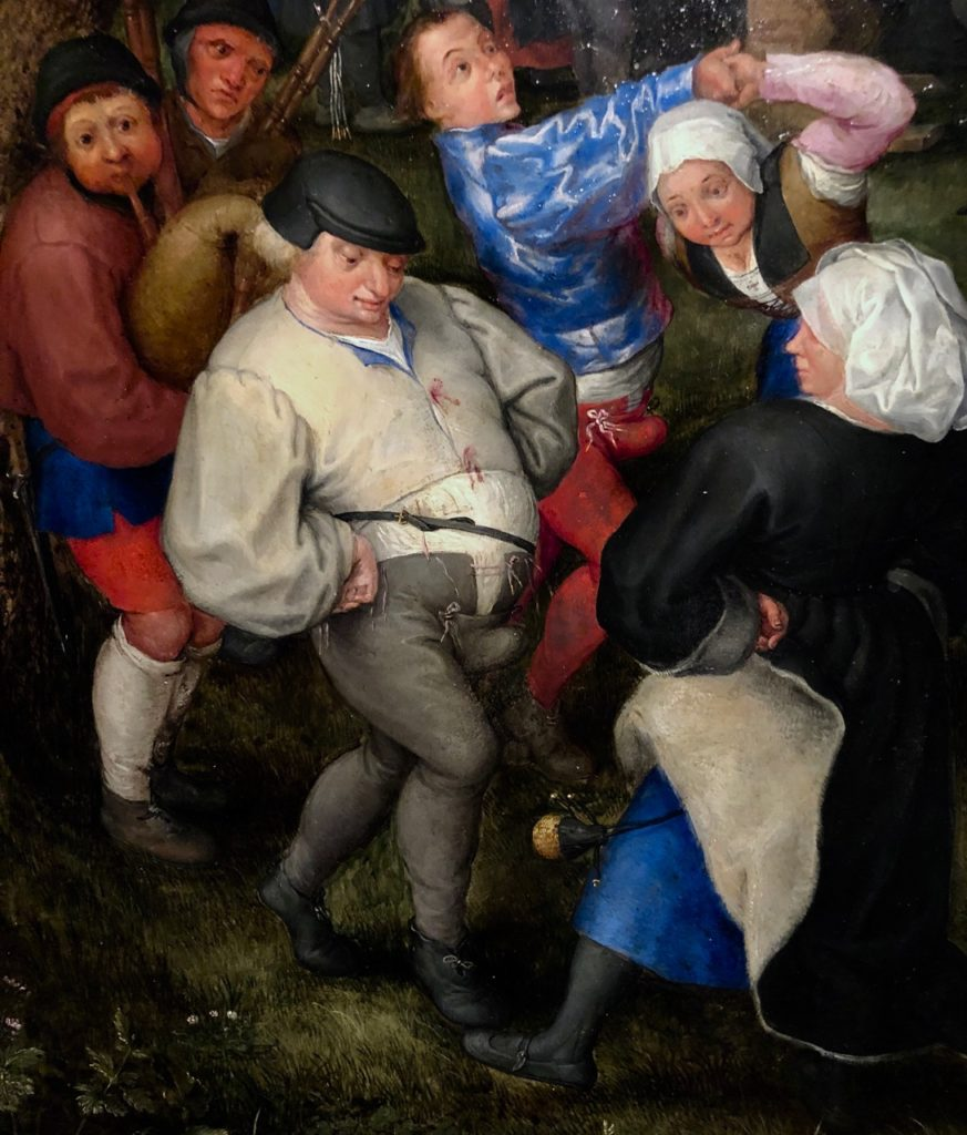Cassel expo temps des Brueghel danse